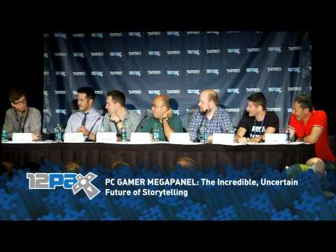 """PC Gamer PAX 2012 Megapanel - """"The Incredible, Uncertain Future of Storytelling"""""""