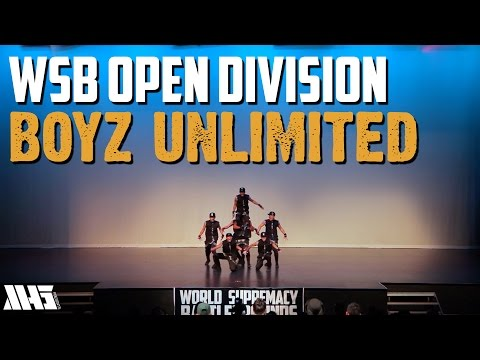 BOYZ UNLIMITED | OPEN DIVISION | WORLD SUPREMACY BATTLEGROUNDS 2015
