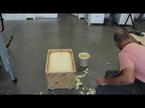 Making TPU (Polyurethane) foam