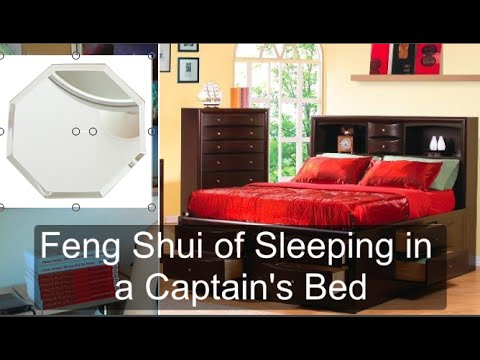 Captain's Bed Feng Shui: Sleeping on a bed with drawers