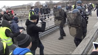 Gilets jaunes Acte 8 : incidents et tensions (5 janvier 2019, Paris) [4K]