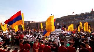 Erebuni-Yerevan festivities for the 2791 anniversary in 2009