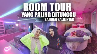 ROOM TOUR Kamar Baru Sajidah Halilintar *ADA RUANGAN RAHASIANYA* Part 1