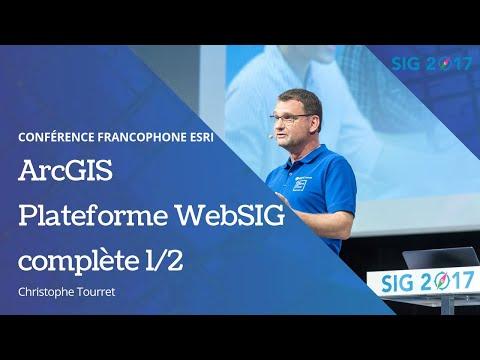 SIG 2017, Session plénière - La plateforme ArcGIS Partie 1