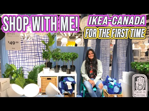 SHOP WITH ME  IKEA VAUGHN |CANADA|NEW IMMIGRANT IN CANADA