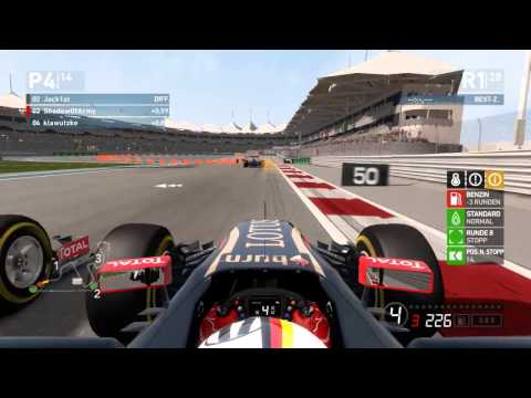 [Incredible Highlights!] F1 2014 League Race #19 Abu Dhabi, United Arab Emirates - [F1-Game.de] [PC]