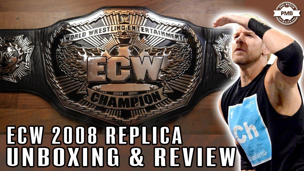 2008 ECW Replica Belt Unboxing & Review