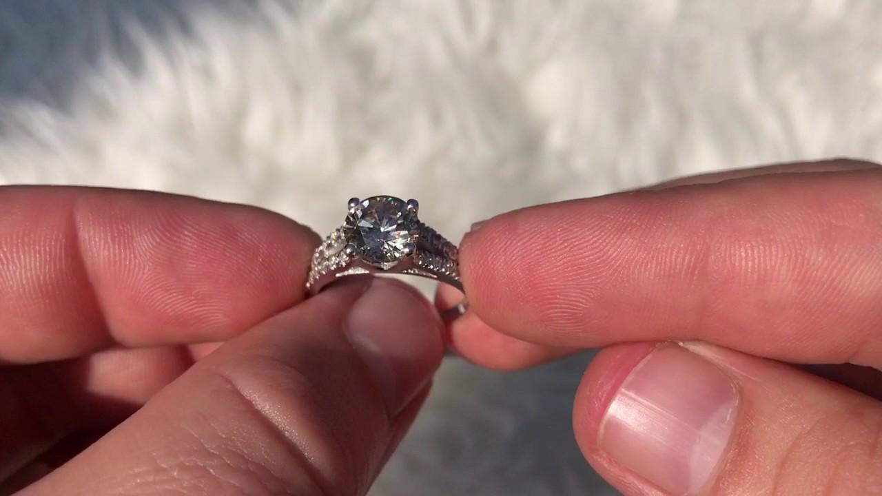 ebay 2.01ct Diamant Solitär 14K Gold - YouTube