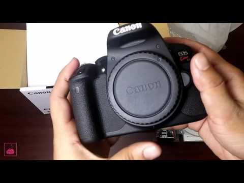 Cannon 700D/ Rebel T5i/ cannon Kiss X7i Review and Unboxing in Bangla