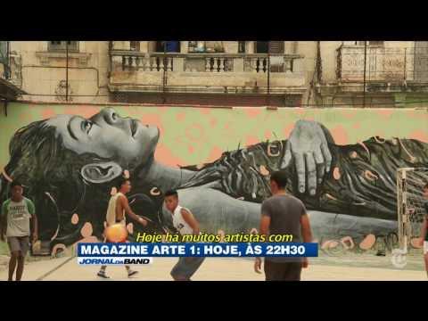 Magazine Arte 1 estreia com parceria do The New York Times