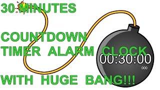 redigitt #059 30 Minutes Countdown Timer Alarm Clock with Huge BANG!!!