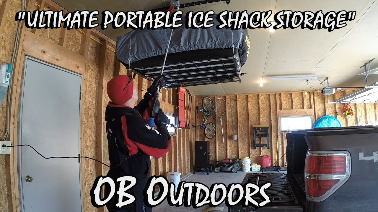 Portable ice house lighting ideas
