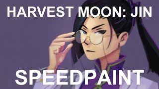 Drawing Harvest Moon Jin