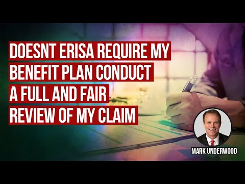Doesn't ERISA protect disability benefits under my disability plan?