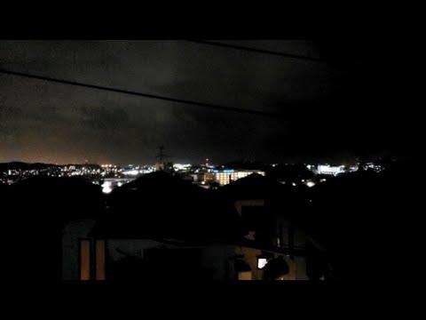 Typhoon 14W LIVE in Yokosuka Japan
