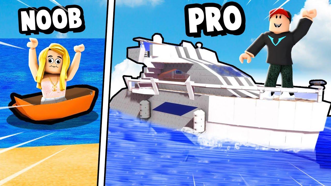 ZBUDOWAŁEM NAJLEPSZĄ ŁÓDKĘ (Roblox Build a Boat)   VITO I BELLA
