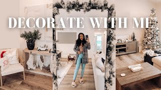 CHRISTMAS DECORATE OUR HOUSE WITH ME!
