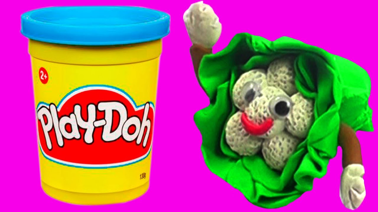 learn vegetables for children with play doh diy cauliflower play doh vegetable molds fun for. Black Bedroom Furniture Sets. Home Design Ideas