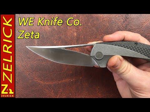 We Knife Co and Isham Blade Works Zeta