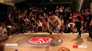 Raw Circles 2013 - Semi Final - Issei & Shuhei (JAP) Vs Lagaet & Bruce Almighty (RUS-POR)