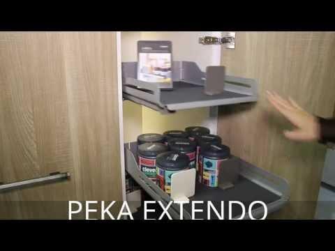 PEKA EXTENDO Półki wysuwne
