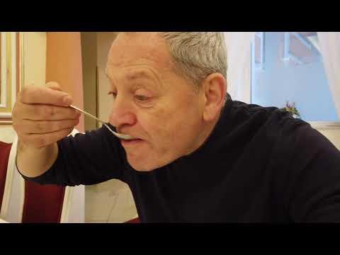 Ужин в санатории - надо держать себя в руках чтобы не съесть вдвое и втрое