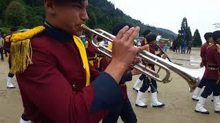 Ghoom boys school band...