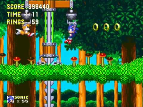 Sonic 3 & Knuckles Part 7: Mushroom Hill Zone (Hyper Sonic & Tails)