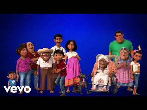 """Recuérdame (Interpretada por Ernesto De la Cruz) (De """"Coco""""/Official Lyric Video)"""