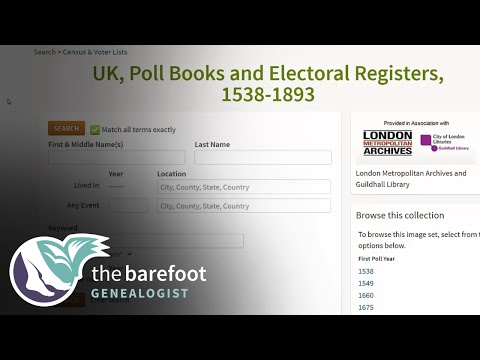 Using Electoral Rolls in Family History Research