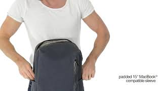 Рюкзак Pacsafe Intasafe Backpack обзор