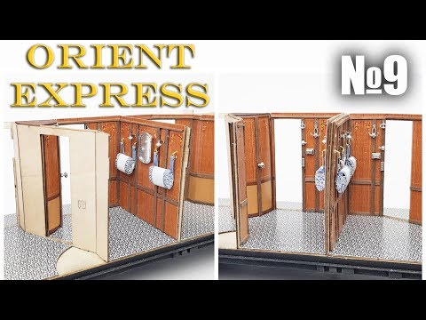 Orient Express: Sleeping Car | Part 9 (Amati)