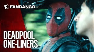Deadpool One-Liners Mashup | Movieclips Trailers