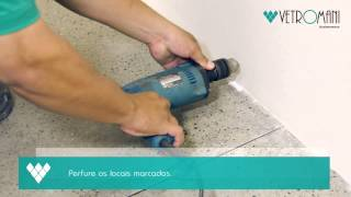 Instalando Rodapés de Poliestireno - Vetromani