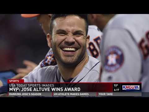 Astros' Jose Altuve wins AL MVP