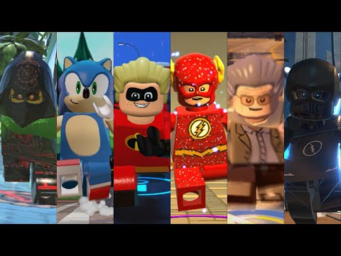 ALL Speedsters In Lego Videogame! (Updated 2020)