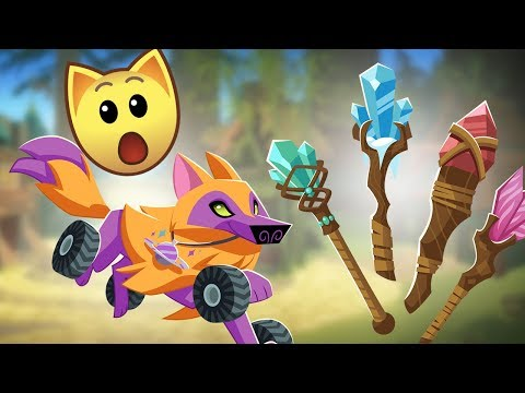 UNRELEASED ITEMS HAVE COME TO ANIMAL JAM