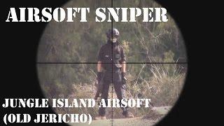 Sniper Scope Cam : Jungle Island Airsoft (Old Jericho Airsoft)