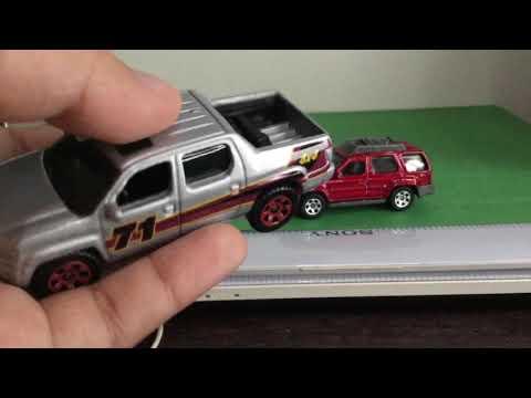 Unboxing Matchbox With Honda Ridgeline Nissan Xterra 2000 Youtube
