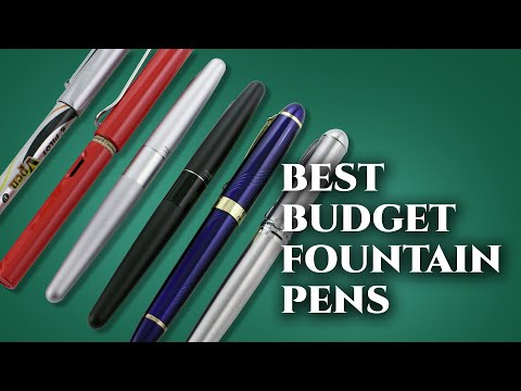 5 Best Inexpensive Fountain Pens For Beginners