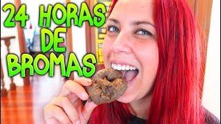 24 HORAS GASTANDO BROMAS A MAKIMAN!! (SE ENFADA MUCHO) BROMAS DE CAMARA OCULTA