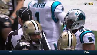 Panthers vs Saints 2014 Week 14