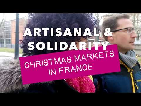 Strolling at a Fair Trade Christmas Market in France VLOGMASS 2017 | Rachael HELPS!