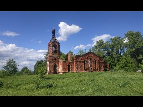 Село Чудь, Навашинский район, Нижегородская область. Заброшенная церковь