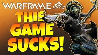 "Warframe Sucks - ""Janitor Simulator 2018""...The Most Boring Grind Ever! - (Fanboy Trigger Warning)"