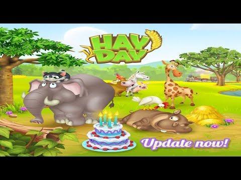 Hay Day Live - June 2017 Update - Sanctuary, 3 animals, New Land, Waterfalls, Decoration, Derby