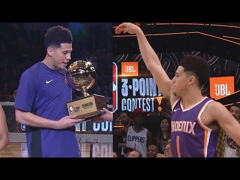 Devin Booker NBA Record 28 All-Star 3 Point Contest 2018!