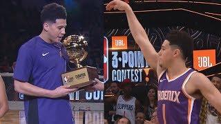 Devin Booker NBA Record 28 All-Star 3 Point Contest 2018!