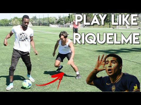 LEARN EASY ARGENTINIAN SOCCER SKILLS - PLAY LIKE RIQUELME