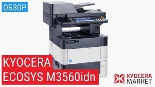Обзор МФУ Kyocera ECOSYS M3560 idn | Купить МФУ принтер сканер Киосера 3560